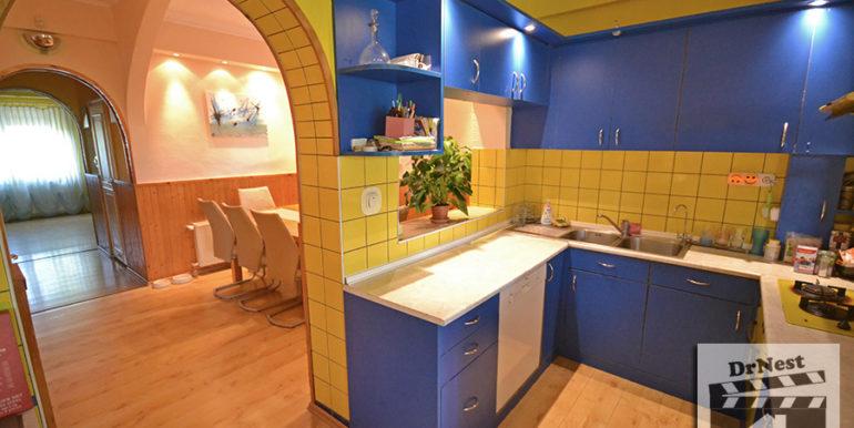földszint - konyha-étkező